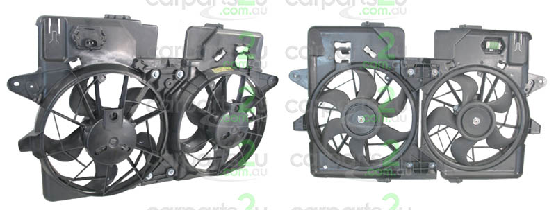MAZDA TRIBUTE EP  RADIATOR FAN ASSEMBLY - New quality car parts & auto spares online Australia wide with the convenience of shopping from your own home. Carparts 2U Penrith Sydney