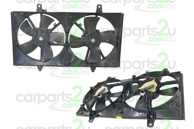 NISSAN MAXIMA  RADIATOR FAN ASSEMBLY - New quality car parts & auto spares online Australia wide with the convenience of shopping from your own home. Carparts 2U Penrith Sydney