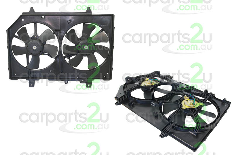 NISSAN X-TRAIL C11  RADIATOR FAN ASSEMBLY - New quality car parts & auto spares online Australia wide with the convenience of shopping from your own home. Carparts 2U Penrith Sydney
