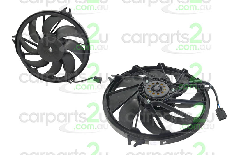 Parts to Suit PEUGEOT 206 Spare Car Parts, 206 RADIATOR FAN ASSEMBLY