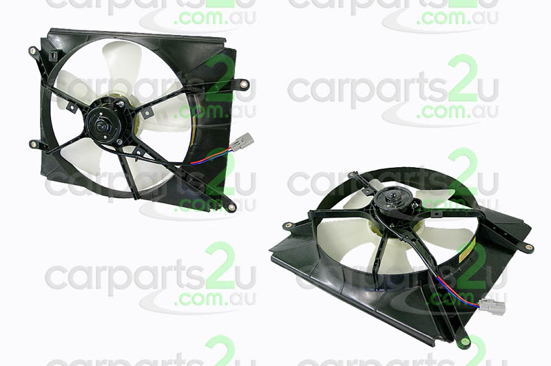 TOYOTA CAMRY YARIS SEDAN NCP23  RADIATOR FAN ASSEMBLY - New quality car parts & auto spares online Australia wide with the convenience of shopping from your own home. Carparts 2U Penrith Sydney