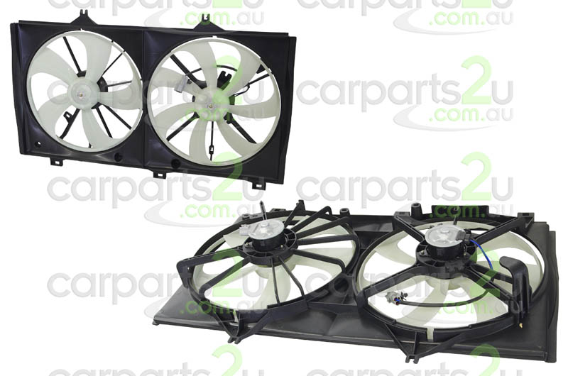 TOYOTA CAMRY ACV36 / MCV36  RADIATOR FAN ASSEMBLY - New quality car parts & auto spares online Australia wide with the convenience of shopping from your own home. Carparts 2U Penrith Sydney