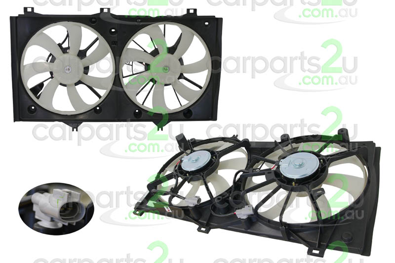 TOYOTA CAMRY ACV40  RADIATOR FAN ASSEMBLY - New quality car parts & auto spares online Australia wide with the convenience of shopping from your own home. Carparts 2U Penrith Sydney