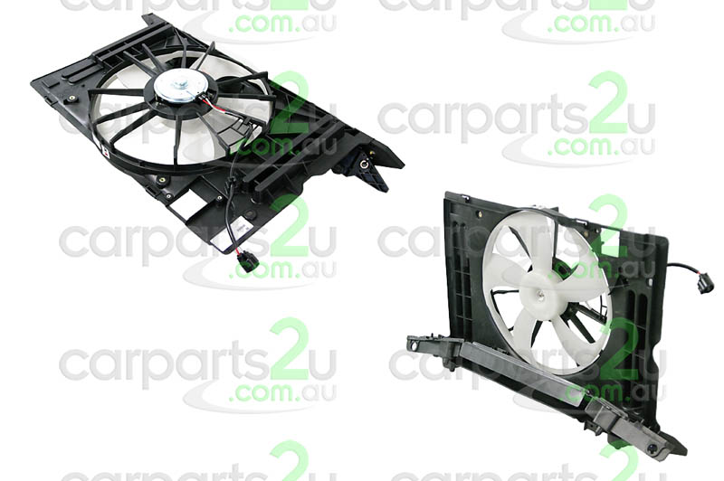 TOYOTA COROLLA ZZE122  RADIATOR FAN ASSEMBLY - New quality car parts & auto spares online Australia wide with the convenience of shopping from your own home. Carparts 2U Penrith Sydney