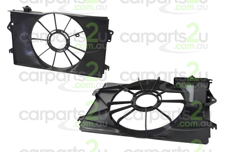TO SUIT TOYOTA COROLLA ZZE122  FAN SHROUD  NA - BRAND NEW A/C CONDENSER FAN SHROUD ASSEMBLY TO SUIT TOYOTA COROLLA ZZE122 (10/2001-03/2007)