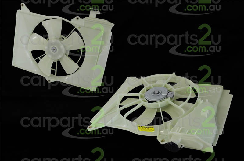 TOYOTA ECHO ZRE152/ZRE153 HATCH  RADIATOR FAN ASSEMBLY - New quality car parts & auto spares online Australia wide with the convenience of shopping from your own home. Carparts 2U Penrith Sydney