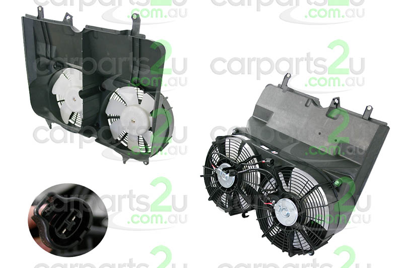 TOYOTA HIACE ECHO NCP10/NCP12/NCP13  RADIATOR FAN ASSEMBLY - New quality car parts & auto spares online Australia wide with the convenience of shopping from your own home. Carparts 2U Penrith Sydney