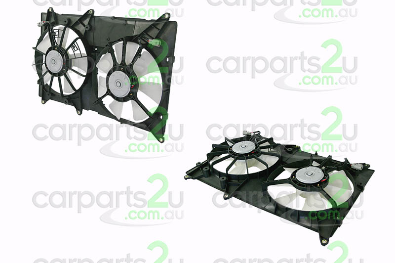 TOYOTA KLUGER HIACE VAN  RADIATOR FAN ASSEMBLY - New quality car parts & auto spares online Australia wide with the convenience of shopping from your own home. Carparts 2U Penrith Sydney