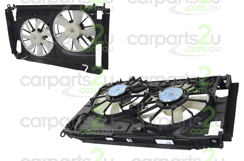 TOYOTA RAV 4 RAV 4 ACA20  RADIATOR FAN ASSEMBLY - New quality car parts & auto spares online Australia wide with the convenience of shopping from your own home. Carparts 2U Penrith Sydney