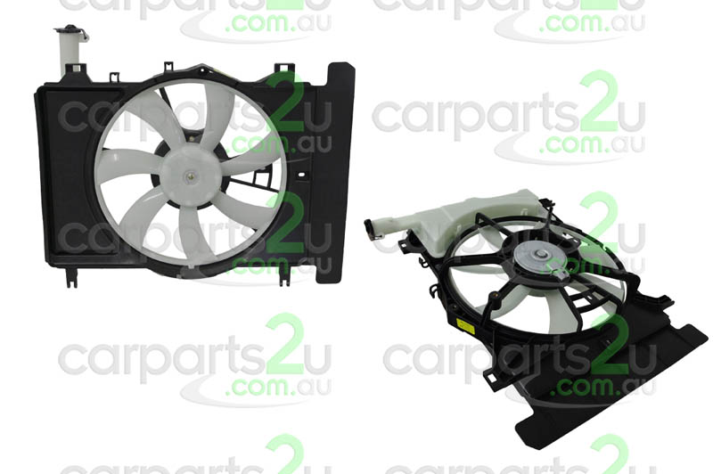 TOYOTA YARIS EP91  RADIATOR FAN ASSEMBLY - New quality car parts & auto spares online Australia wide with the convenience of shopping from your own home. Carparts 2U Penrith Sydney