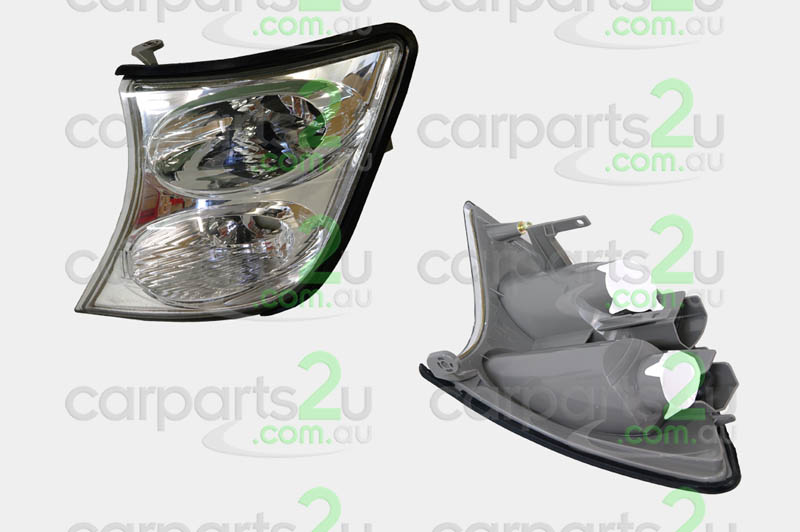 NISSAN PATROL GU / Y61  FRONT CORNER LIGHT - New quality car parts & auto spares online Australia wide with the convenience of shopping from your own home. Carparts 2U Penrith Sydney