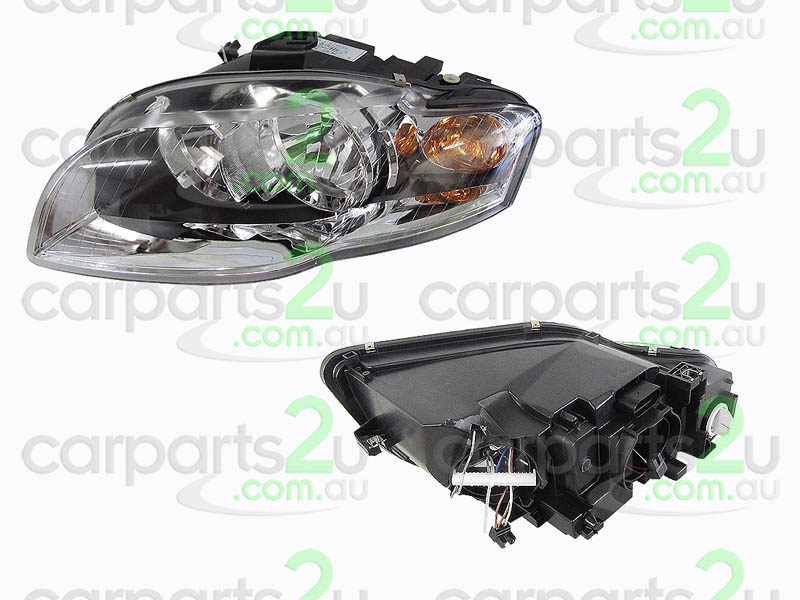 AUDI A4 A4 B6  HEAD LIGHT - New quality car parts & auto spares online Australia wide with the convenience of shopping from your own home. Carparts 2U Penrith Sydney