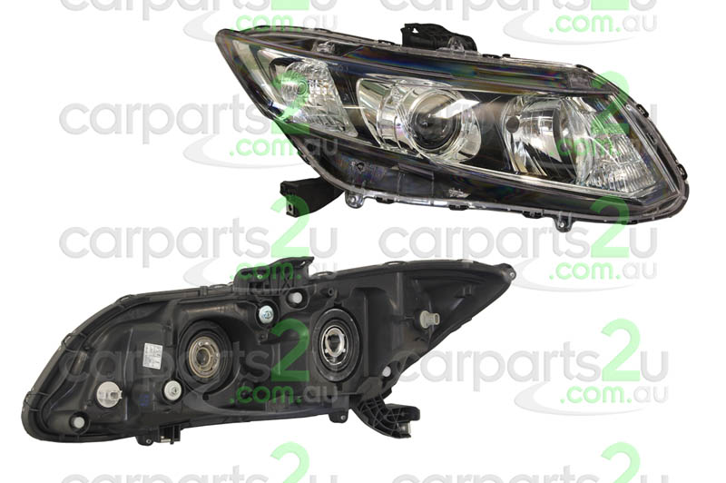 HONDA CIVIC FB  HEAD LIGHT - New quality car parts & auto spares online Australia wide with the convenience of shopping from your own home. Carparts 2U Penrith Sydney
