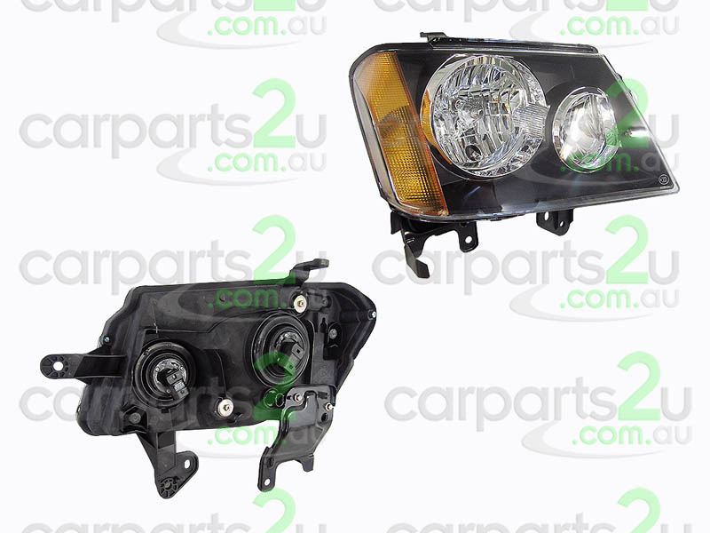 HOLDEN COLORADO COLORADO UTE RC  HEAD LIGHT - New quality car parts & auto spares online Australia wide with the convenience of shopping from your own home. Carparts 2U Penrith Sydney