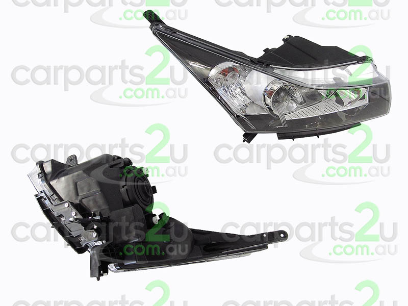 HOLDEN CRUZE CRUZE JG  HEAD LIGHT - New quality car parts & auto spares online Australia wide with the convenience of shopping from your own home. Carparts 2U Penrith Sydney