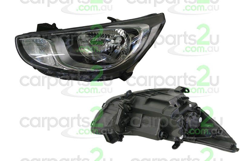 HYUNDAI ACCENT MC  HEAD LIGHT - New quality car parts & auto spares online Australia wide with the convenience of shopping from your own home. Carparts 2U Penrith Sydney