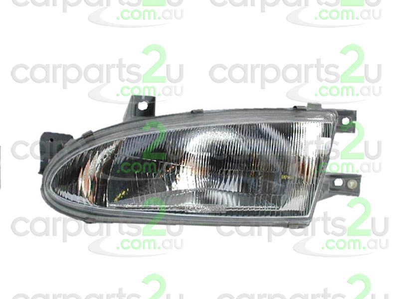 HYUNDAI EXCEL ACCENT RB  HEAD LIGHT - New quality car parts & auto spares online Australia wide with the convenience of shopping from your own home. Carparts 2U Penrith Sydney