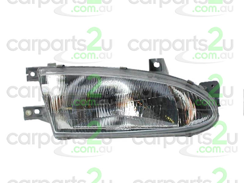 HYUNDAI EXCEL EXCEL X3  HEAD LIGHT - New quality car parts & auto spares online Australia wide with the convenience of shopping from your own home. Carparts 2U Penrith Sydney