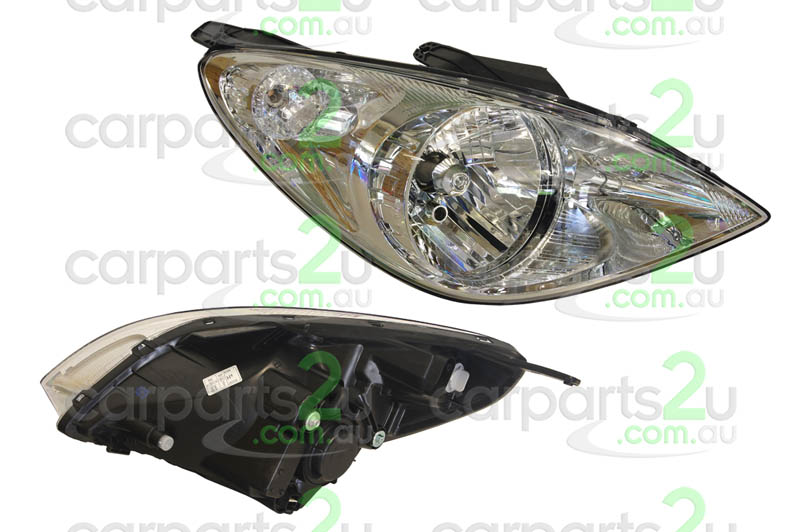 HYUNDAI I20 I20  HEAD LIGHT - New quality car parts & auto spares online Australia wide with the convenience of shopping from your own home. Carparts 2U Penrith Sydney