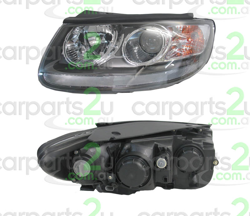 HYUNDAI SANTA FE SONATA  HEAD LIGHT - New quality car parts & auto spares online Australia wide with the convenience of shopping from your own home. Carparts 2U Penrith Sydney
