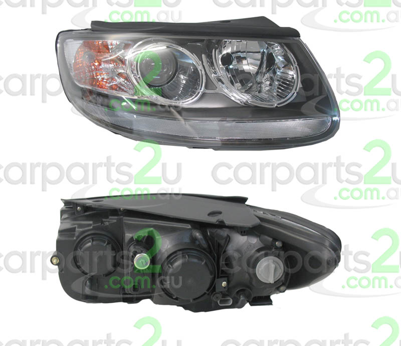 HYUNDAI SANTA FE CM  HEAD LIGHT - New quality car parts & auto spares online Australia wide with the convenience of shopping from your own home. Carparts 2U Penrith Sydney