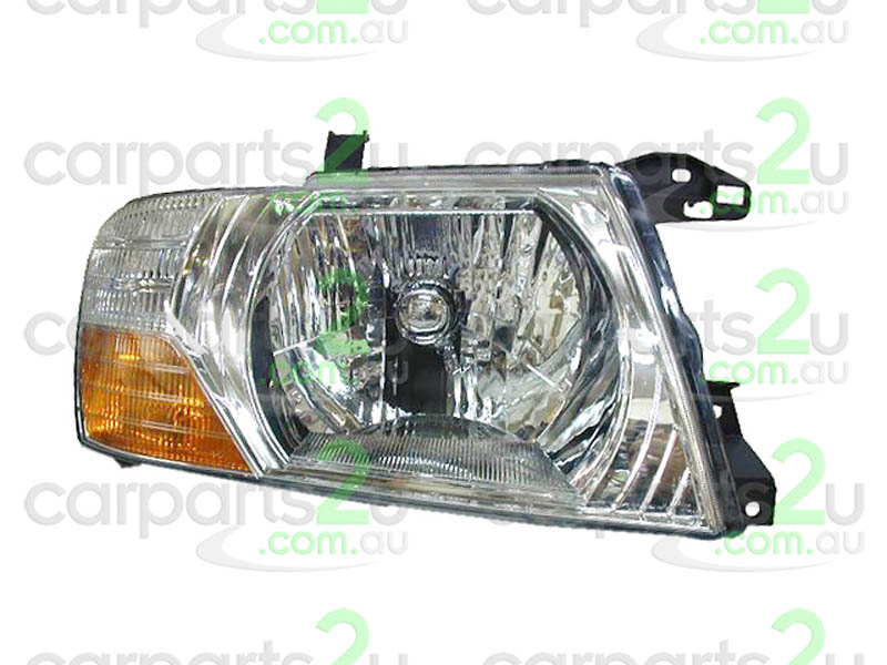 Mitsubishi Pajero NP 11//2002-10//2006 Headlight Chrome-LEFT