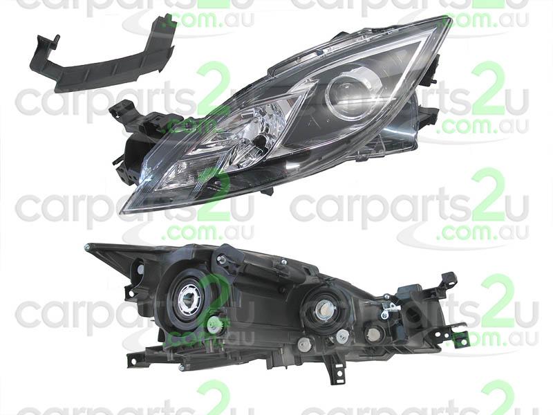 2012 cx 7 headlight