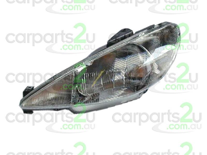 Parts to Suit PEUGEOT 206 Spare Car Parts, 206 HEAD LIGHT