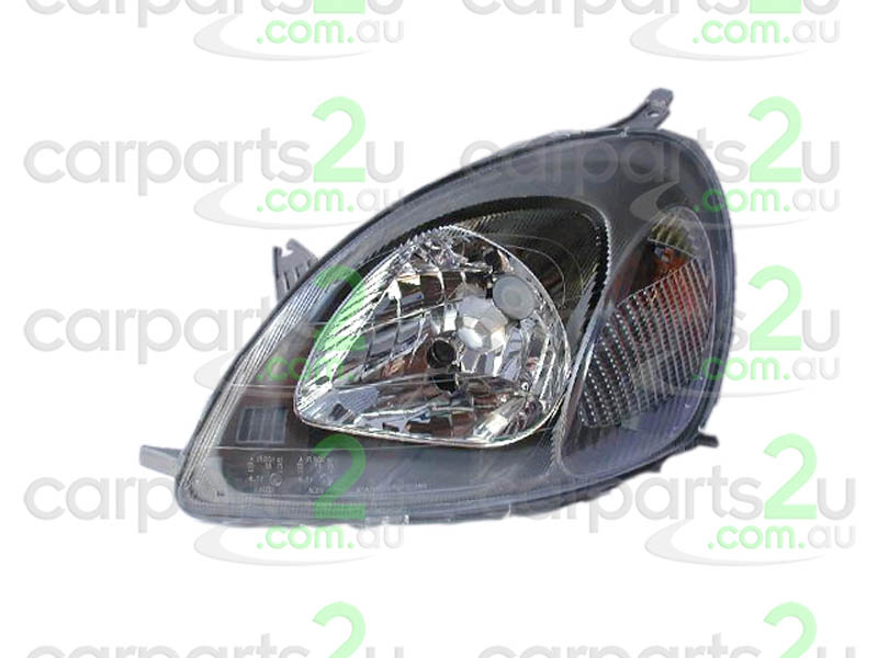 TOYOTA ECHO ZZE122  HEAD LIGHT - New quality car parts & auto spares online Australia wide with the convenience of shopping from your own home. Carparts 2U Penrith Sydney