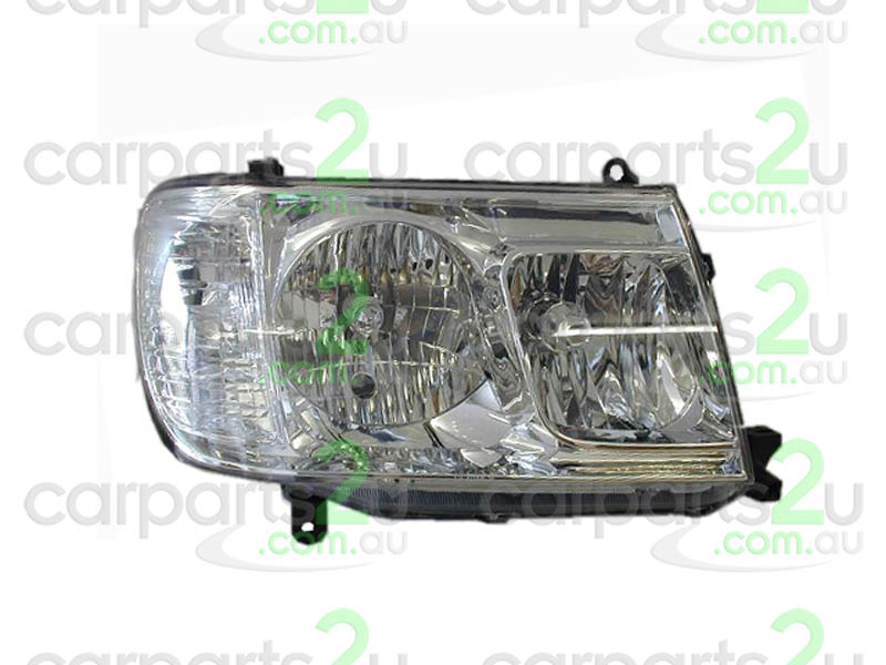 TOYOTA LANDCRUISER 100 SERIES  HEAD LIGHT - New quality car parts & auto spares online Australia wide with the convenience of shopping from your own home. Carparts 2U Penrith Sydney