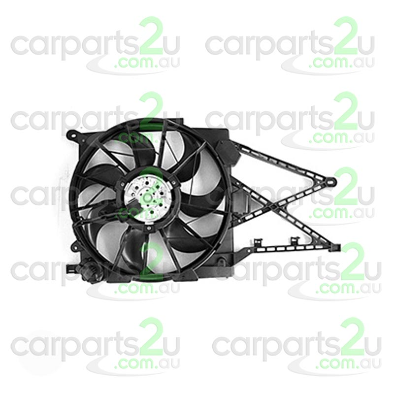 HOLDEN ASTRA VZ  RADIATOR FAN ASSEMBLY - New quality car parts & auto spares online Australia wide with the convenience of shopping from your own home. Carparts 2U Penrith Sydney