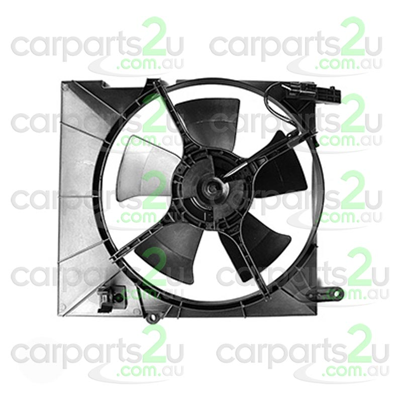 HOLDEN BARINA AH  RADIATOR FAN ASSEMBLY - New quality car parts & auto spares online Australia wide with the convenience of shopping from your own home. Carparts 2U Penrith Sydney