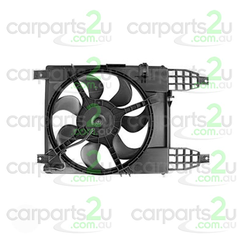 TO SUIT HOLDEN BARINA TK HATCH  RADIATOR FAN ASSEMBLY  NA - BRAND NEW RADIATOR FAN ASSEMBLY TO SUIT HOLDEN BARINA TK HATCH MODELS BETWEEN 6/2008-12/2012 & TK SEDAN MODELS BETWEEN 6/2008-11/2011
