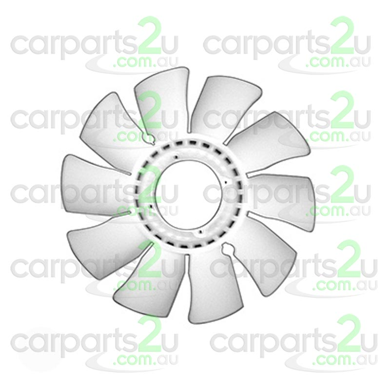 MAZDA B SERIES UTE / BRAVO MX-5 NC  RADIATOR FAN BLADE - New quality car parts & auto spares online Australia wide with the convenience of shopping from your own home. Carparts 2U Penrith Sydney