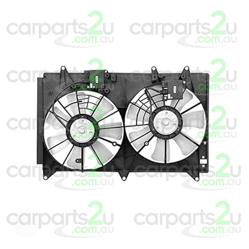 MAZDA CX-7 MAZDA 3 BL  RADIATOR FAN ASSEMBLY - New quality car parts & auto spares online Australia wide with the convenience of shopping from your own home. Carparts 2U Penrith Sydney