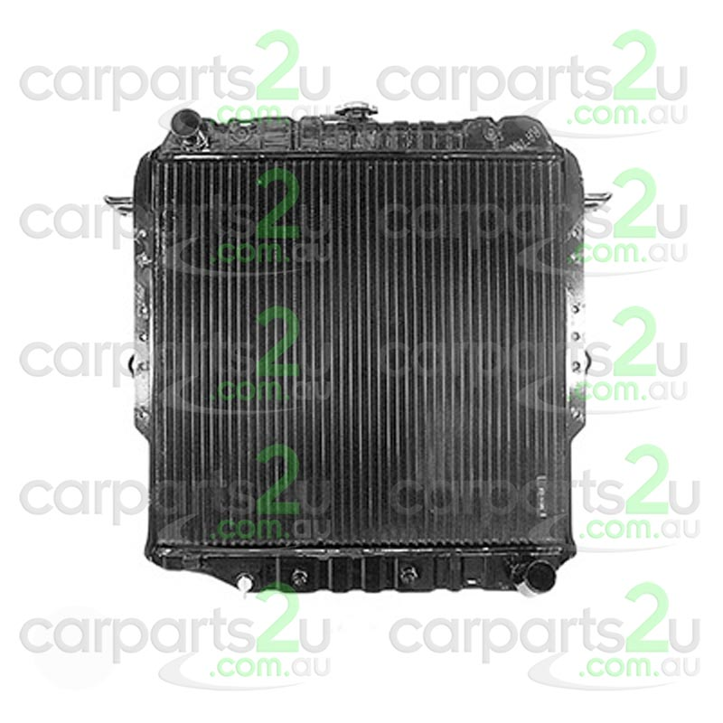 TOYOTA LANDCRUISER 60 SERIES  RADIATOR - New quality car parts & auto spares online Australia wide with the convenience of shopping from your own home. Carparts 2U Penrith Sydney