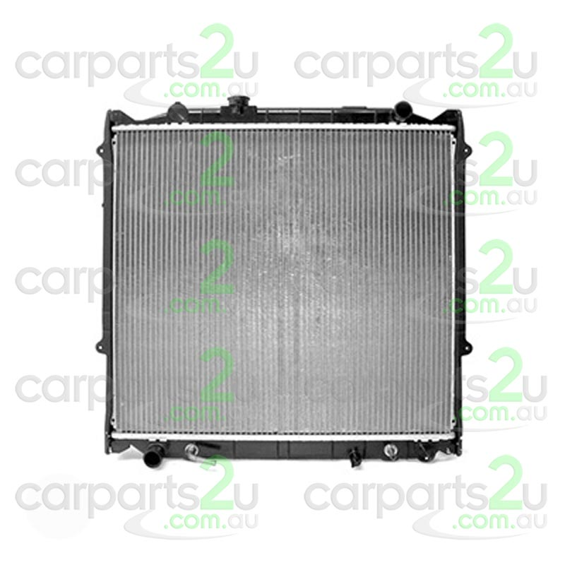 TOYOTA PRADO 80 SERIES  RADIATOR - New quality car parts & auto spares online Australia wide with the convenience of shopping from your own home. Carparts 2U Penrith Sydney