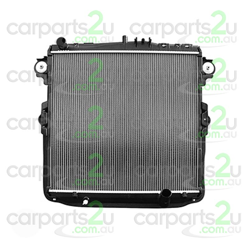 TOYOTA LANDCRUISER PRADO 95 SERIES  RADIATOR - New quality car parts & auto spares online Australia wide with the convenience of shopping from your own home. Carparts 2U Penrith Sydney