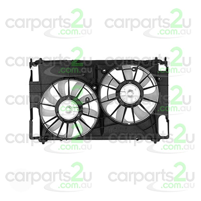 TOYOTA RAV 4 KLUGER GSU40/GSU45  RADIATOR FAN ASSEMBLY - New quality car parts & auto spares online Australia wide with the convenience of shopping from your own home. Carparts 2U Penrith Sydney