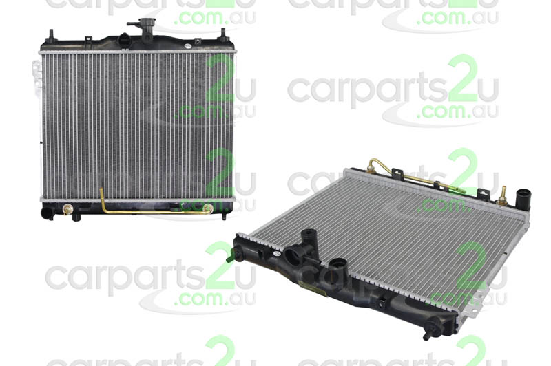 HYUNDAI GETZ EXCEL X3  RADIATOR - New quality car parts & auto spares online Australia wide with the convenience of shopping from your own home. Carparts 2U Penrith Sydney