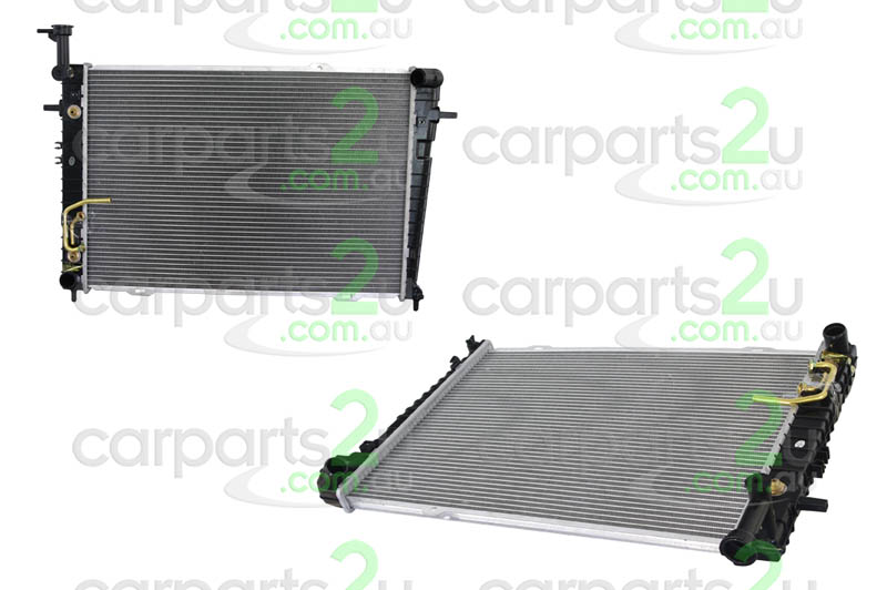HYUNDAI TUSCON TRAJET FO  RADIATOR - New quality car parts & auto spares online Australia wide with the convenience of shopping from your own home. Carparts 2U Penrith Sydney