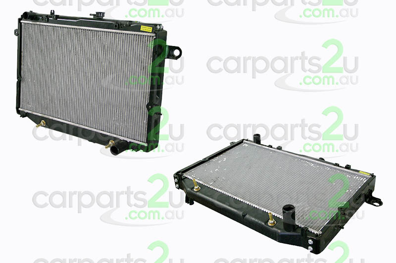TOYOTA LANDCRUISER KLUGER MCU28  RADIATOR - New quality car parts & auto spares online Australia wide with the convenience of shopping from your own home. Carparts 2U Penrith Sydney