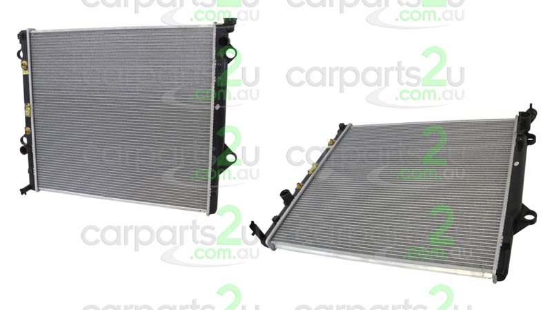 TOYOTA PRADO 100 SERIES  RADIATOR - New quality car parts & auto spares online Australia wide with the convenience of shopping from your own home. Carparts 2U Penrith Sydney