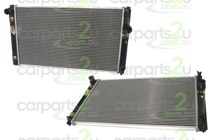 TOYOTA TARAGO EP91  RADIATOR - New quality car parts & auto spares online Australia wide with the convenience of shopping from your own home. Carparts 2U Penrith Sydney