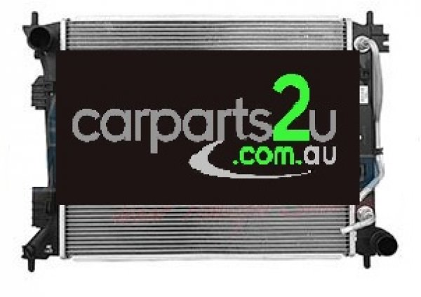HYUNDAI VELOSTER VELOSTER FS COUPE  RADIATOR - New quality car parts & auto spares online Australia wide with the convenience of shopping from your own home. Carparts 2U Penrith Sydney