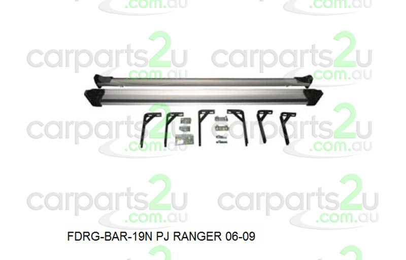 To suit FORD RANGER D40T UTE *THAI BUILD MNT*  SIDE STEPS - New quality car parts & auto spares online Australia wide with the convenience of shopping from your own home. Carparts 2U Penrith Sydney
