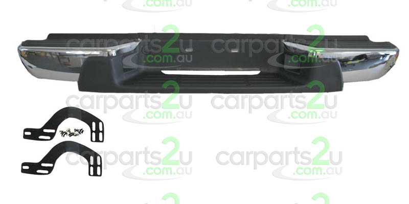 HOLDEN RODEO CRUZE JG  REAR BUMPER - New quality car parts & auto spares online Australia wide with the convenience of shopping from your own home. Carparts 2U Penrith Sydney
