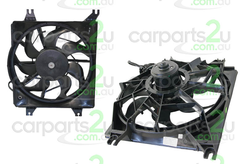 HYUNDAI EXCEL CM  RADIATOR FAN ASSEMBLY - New quality car parts & auto spares online Australia wide with the convenience of shopping from your own home. Carparts 2U Penrith Sydney