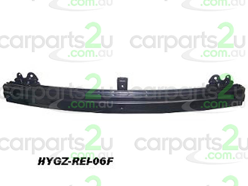 HYUNDAI GETZ MC  FRONT BAR REINFORCEMENT - New quality car parts & auto spares online Australia wide with the convenience of shopping from your own home. Carparts 2U Penrith Sydney