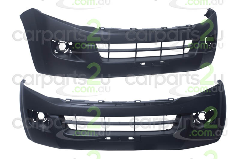ISUZU D-MAX MU-X WAGON  FRONT BUMPER - New quality car parts & auto spares online Australia wide with the convenience of shopping from your own home. Carparts 2U Penrith Sydney